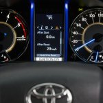 2016 Toyota Fortuner for Australia instrument cluster interior revealed