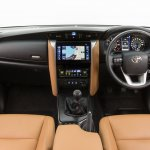 2016 Toyota Fortuner for Australia interior revealed