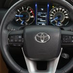 2016 Toyota Fortuner for Australia steering wheel interior revealed
