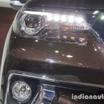 2016 Toyota Fortuner headlamp with DRL at Thailand Big Motor Sale