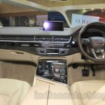 Audi Q7 dashboard at the Gaikindo Indonesia International Auto Show 2015