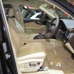 Audi Q7 front seats at the Gaikindo Indonesia International Auto Show 2015