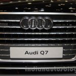 Audi Q7 grille at the Gaikindo Indonesia International Auto Show 2015
