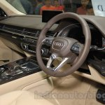 Audi Q7 interior at the Gaikindo Indonesia International Auto Show 2015