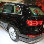 Audi Q7 rear three quarter left at the Gaikindo Indonesia International Auto Show 2015