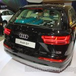 Audi Q7 rear three quarters at the Gaikindo Indonesia International Auto Show 2015