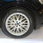Audi Q7 wheel at the Gaikindo Indonesia International Auto Show 2015