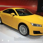 Audi TT Coupe front three quarter at the Gaikindo Indonesia International Auto Show 2015