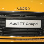 Audi TT Coupe grille at the Gaikindo Indonesia International Auto Show 2015