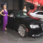 Chrysler 300C front three quarters at the Indonesia International Motor Show 2015