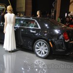 Chrysler 300C rear three quarter at the Indonesia International Motor Show 2015