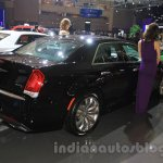 Chrysler 300C rear three quarter right angle at the Indonesia International Motor Show 2015