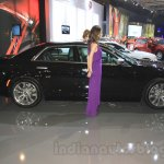 Chrysler 300C side at the Indonesia International Motor Show 2015