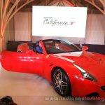 Ferrari California T front quarter launched in Mumbai