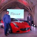 Ferrari California T front three quarter launched in Mumbai