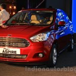 Ford Figo Aspire front quarter (1) launched at INR 4.89 Lakhs