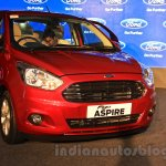 Ford Figo Aspire front quarter launched at INR 4.89 Lakhs