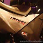 Honda CB Hornet 160R badge from the showcase in India