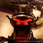 Honda CB Hornet 160R brake light from the showcase in India