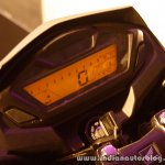 Honda CB Hornet 160R digital cluster from the showcase in India