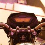 Honda CB Hornet 160R digital instrument cluster from the showcase in India