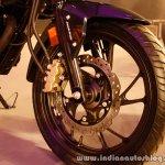 Honda CB Hornet 160R disc brake front from the showcase in India