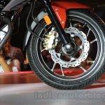 Honda CB Hornet 160R front disc brake
