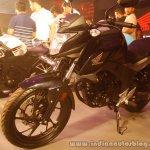 Honda CB Hornet 160R front three quarter from the showcase in India