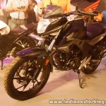 Honda CB Hornet 160R front three quarter right from the showcase in India