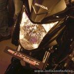 Honda CB Hornet 160R headlamp fairing from the showcase in India