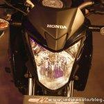Honda CB Hornet 160R headlight from the showcase in India