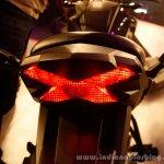 Honda CB Hornet 160R taillamp from the showcase in India
