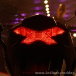 Honda CB Hornet 160R taillamp graphic from the showcase in India