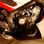 Honda CBR650F engine bay at the Revfest