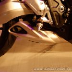 Honda CBR650F footrest at the Revfest