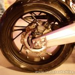 Honda CBR650F rear tire at the Revfest