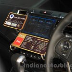 Honda CR-V Prestige AT special edition 7-inch AVN system at the Gaikindo Indonesia International Auto Show 2015