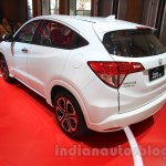 Honda HR-V JBL special edition rear three quarter at the Gaikindo Indonesia International Auto Show 2015