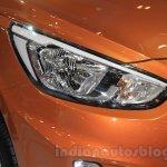 Hyundai Grand Avega Limited headlamps at the 2015 Gaikindo Indonesia International Motor Show