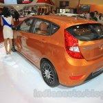 Hyundai Grand Avega Limited rear quarter at the 2015 Gaikindo Indonesia International Motor Show