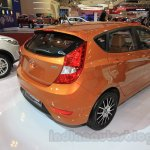 Hyundai Grand Avega Limited rear three quarter at the 2015 Gaikindo Indonesia International Motor Show