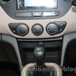 Hyundai Grand i10X center console at the 2015 Gaikindo Indonesia International Motor Show