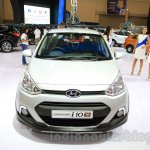 Hyundai Grand i10X front at the 2015 Gaikindo Indonesia International Motor Show