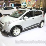 Hyundai Grand i10X front three quarter at the 2015 Gaikindo Indonesia International Motor Show