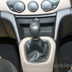 Hyundai Grand i10X gear lever at the 2015 Gaikindo Indonesia International Motor Show