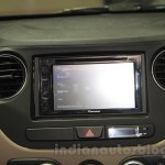 Hyundai Grand i10X infotainment screen at the 2015 Gaikindo Indonesia International Motor Show