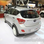 Hyundai Grand i10X rear quarter at the 2015 Gaikindo Indonesia International Motor Show