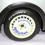 Hyundai Grand i10X rims at the 2015 Gaikindo Indonesia International Motor Show