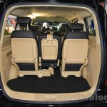 Hyundai H-1 Black Edition boot space at the 2015 Indonesia International Motor Show