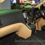 Hyundai H-1 Black Edition dashboard at the 2015 Indonesia International Motor Show